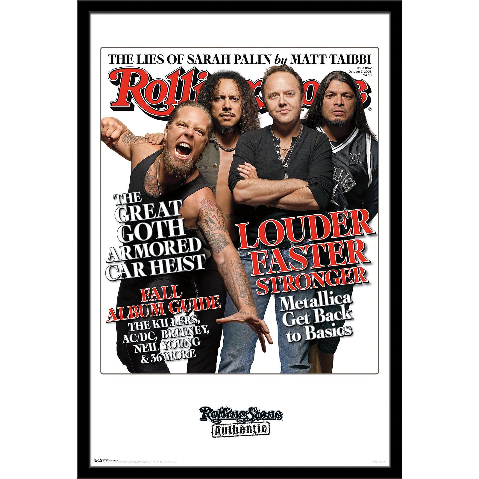 Trends International Rolling Stone - Metallica Poster