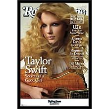 Rolling Stone - Taylor Swift Poster Framed Black