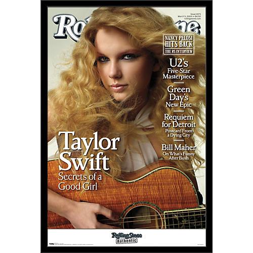 Trends International Rolling Stone - Taylor Swift Poster Framed Black