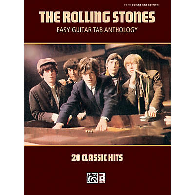 Alfred Rolling Stones - Easy Guitar Tab Anthology - Book