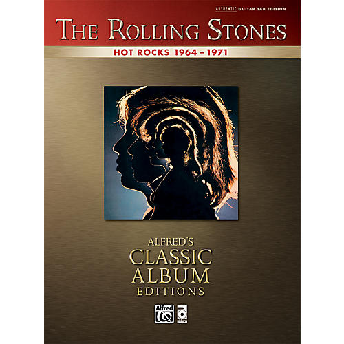 Alfred Rolling Stones - Hot Rocks Guitar Tab Book
