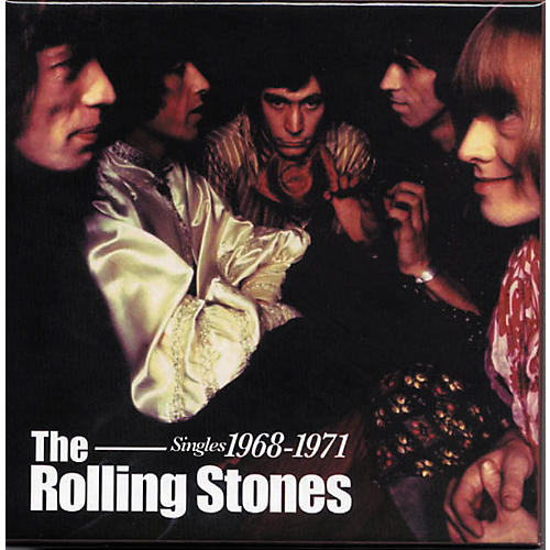 Music CD Rolling Stones - Singles 1968-1971 Box Set (CD/DVD)