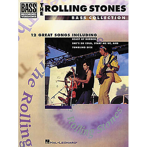Hal Leonard Rolling Stones Bass Collection Bass Guitar Tab Songbook
