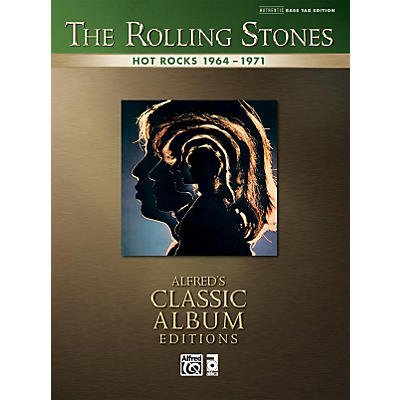 Alfred Rolling Stones Hot Rocks - Bass Tab Book