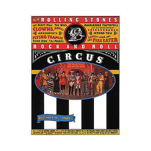 Hal Leonard Rolling Stones Rock and Roll Circus Guitar Tab Songbook