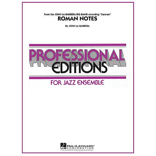 Hal Leonard Roman Notes Jazz Band Level 5 Composed by John La Barbera