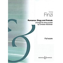 Boosey and Hawkes Romance, Elegy and Prelude Boosey & Hawkes Scores/Books by Gerald Finzi Arranged by Christian Alexander