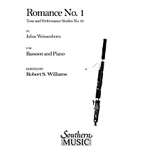 Southern Romance No 1 (Bassoon) Southern Music Series Arranged by Robert Williams