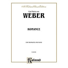 Alfred Romance for Trombone By Carl Maria von Weber Book