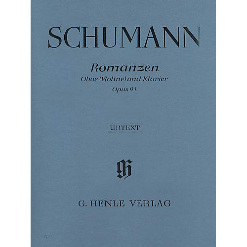 G. Henle Verlag Romances, Op 94 (for Oboe & Piano) Henle Music Folios Series Book