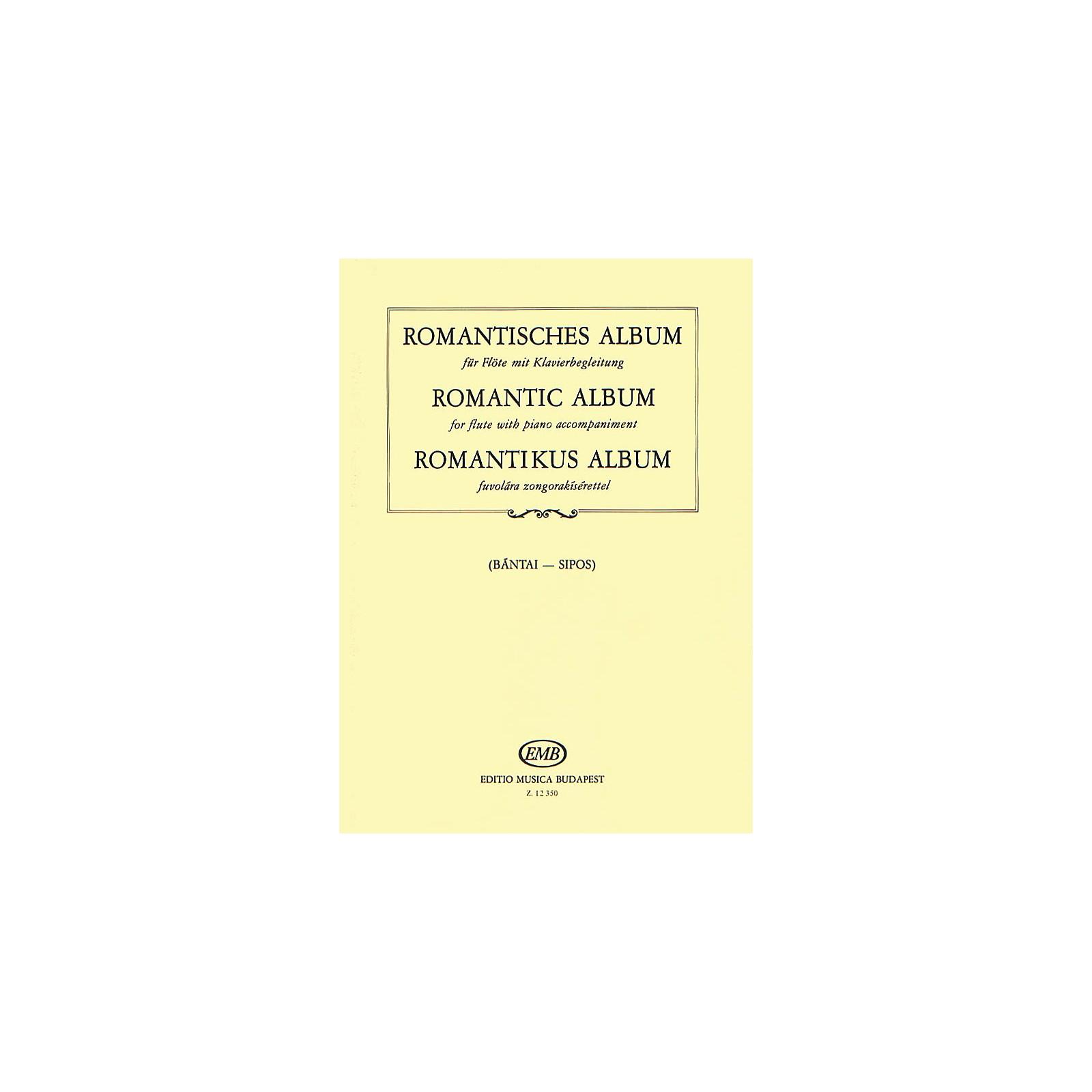 Editio Musica Budapest Romantic Album for Flute and Piano EMB Series