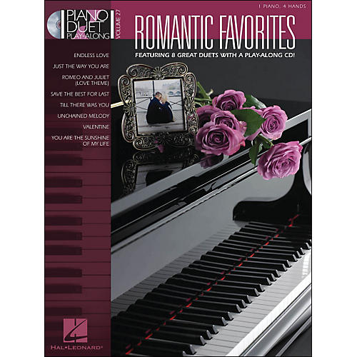 Hal Leonard Romantic Favorites Piano Duetplay-Along Volume 27 Book/CD