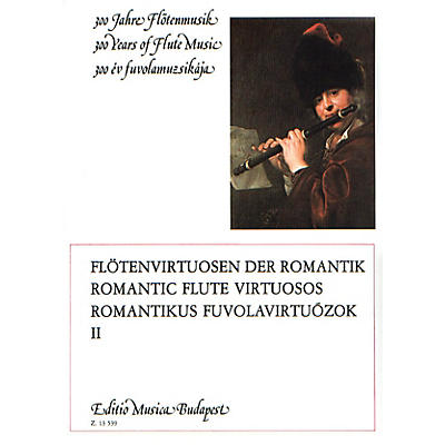 Editio Musica Budapest Romantic Flute Virtuosos - Volume 2 EMB Series