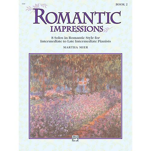 Alfred Romantic Impressions Book 2