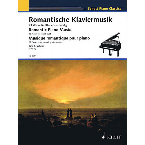 Schott Romantic Piano Music - Volume 1 Schott Series Composed by Various Edited by Klaus Börner