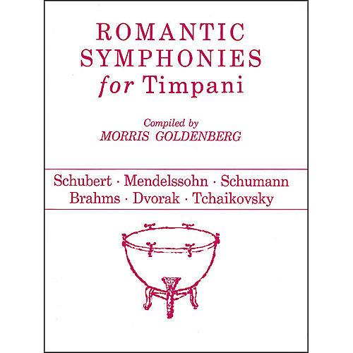 Hal Leonard Romantic Symphonies for Timpani