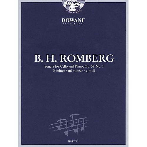 Dowani Editions Romberg: Sonata for Cello and Piano in E Minor, Op. 38 No. 1 Dowani Book/CD Series