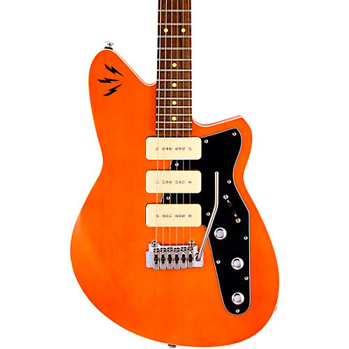 Reverend Ron Asheton Jetstream 390 Electric Guitar Rock Orange