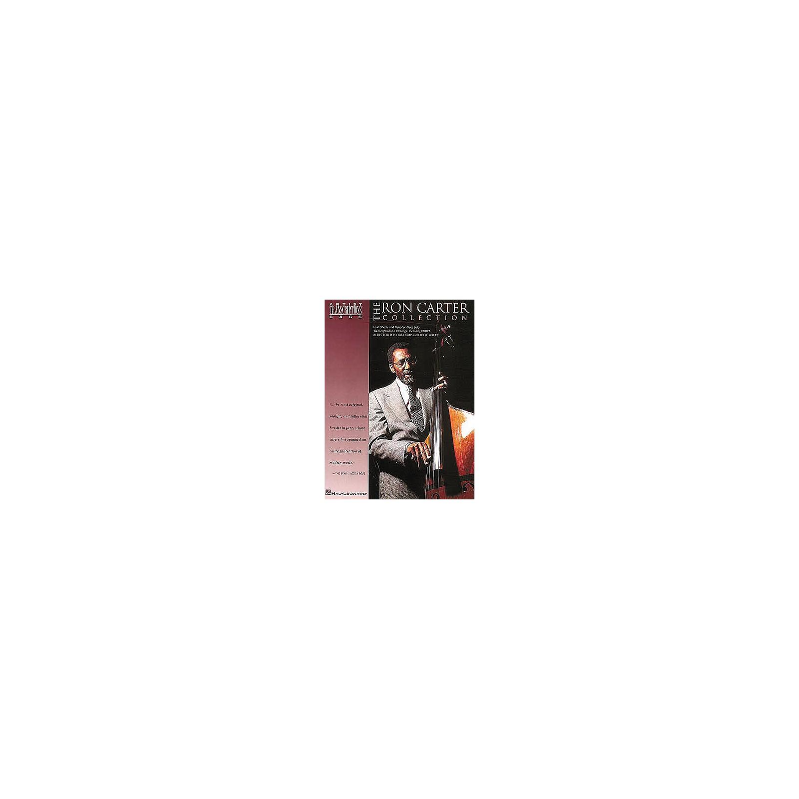 Hal Leonard Ron Carter Collection Bass Transcriptions Book
