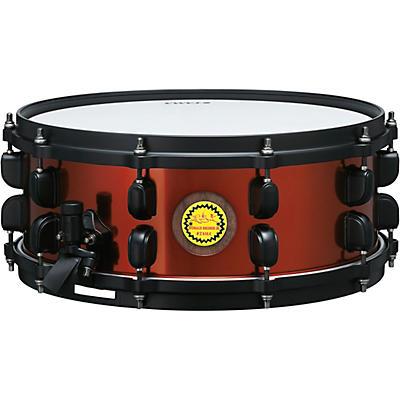 TAMA Ronald Bruner Signature 5.5 x 14 in. Walnut/Steel Hybrid Snare Drum