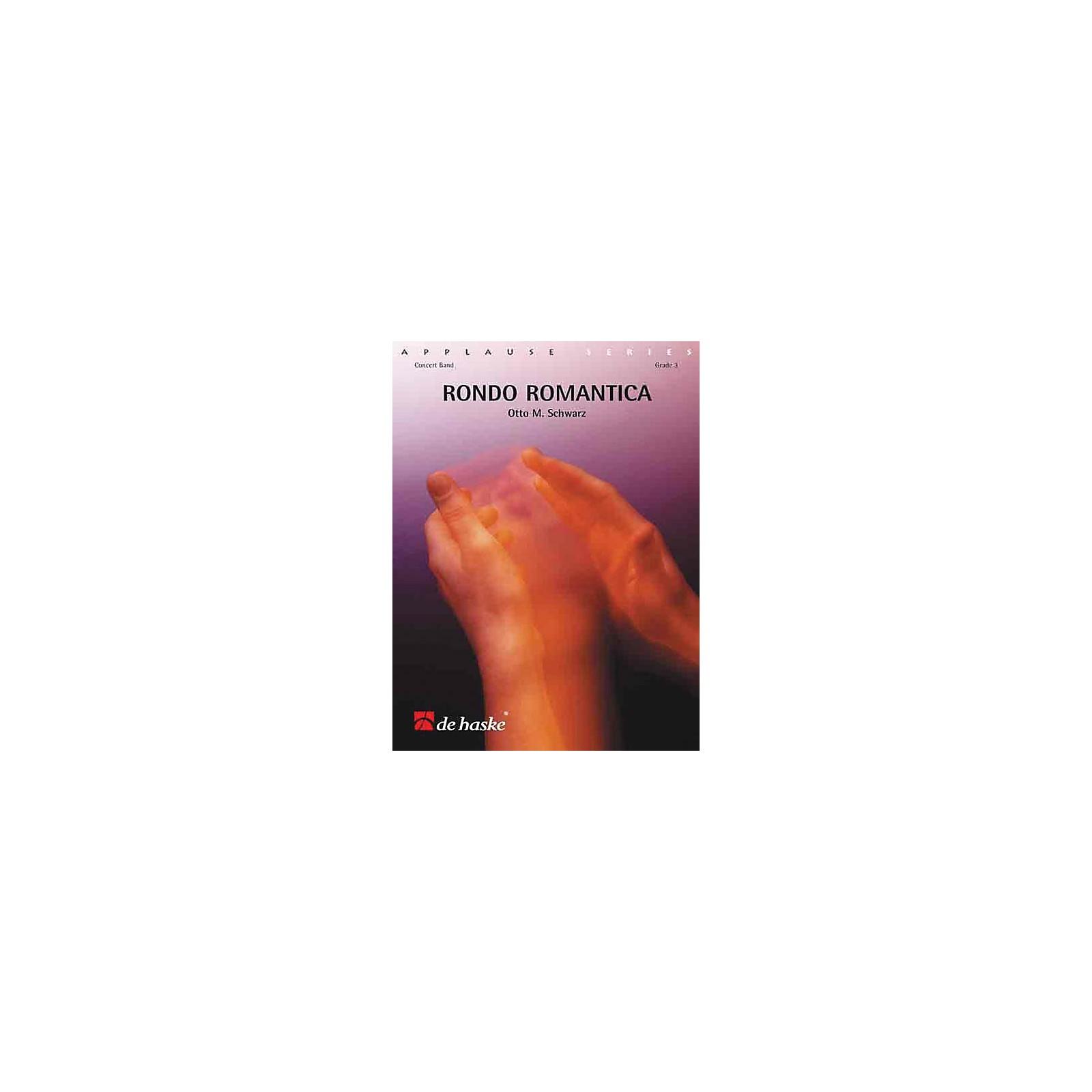 De Haske Music Rondo Romantica (Score and Parts) Concert Band Level 3 Composed by Otto M. Schwarz