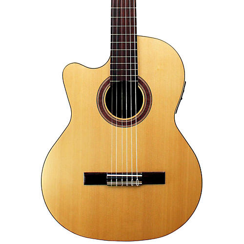 Kremona Rondo Thin Line Left-Handed Classical Acoustic-Electric Guitar Natural