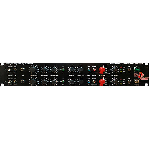 Thermionic Culture Rooster Stereo Mic/Line/DIPre EQ & Attitude, with Balanced Output