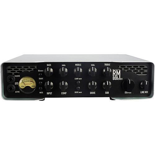 Ashdown Rootmaster RM-800 EVO II 800W Bass Amp Head Gray and Black