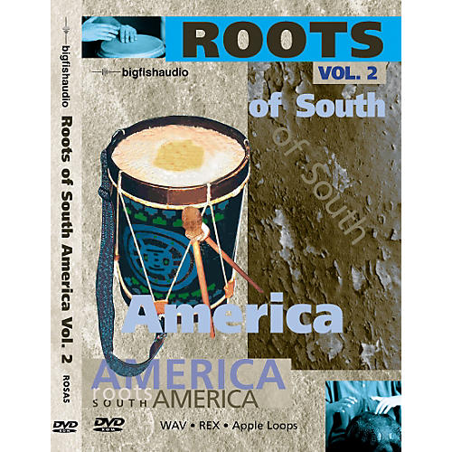 Big Fish Roots of South America Volume 2 - Audio Loops