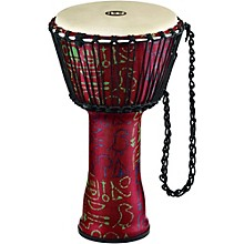 Rope Tuned Djembe with Synthetic Shell and Goat Skin Head 10 in. Pharaoh's Script