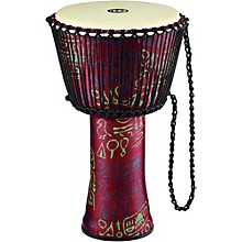 Rope Tuned Djembe with Synthetic Shell and Goat Skin Head 14 in. Pharaoh's Script