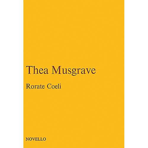 Novello Rorate Coeli (Vocal Score) Vocal Score Composed by John Joubert