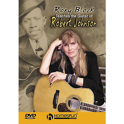 Homespun Rory Block Teaches The Guitar of Robert Johnson DVD