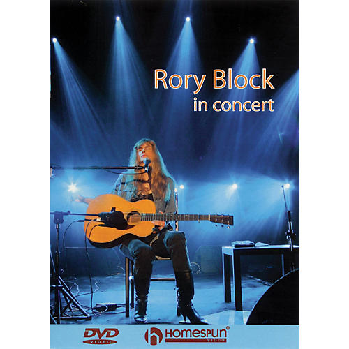 Homespun Rory Block in Concert (Live at the Sheldon Concert Hall) Live/DVD Series DVD Performed by Rory Block