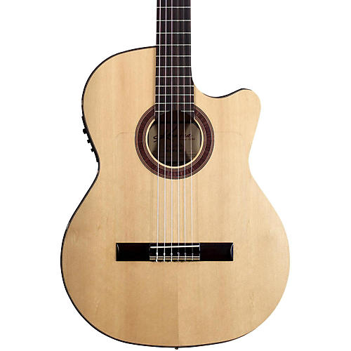 Kremona Rosa Luna Flamenco Acoustic-Electric Nylon Guitar Natural