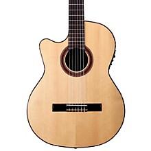 Open BoxKremona Rosa Luna Left-Handed Flamenco Blanca Guitar