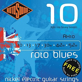 rotosound roto blues light top heavy bottom electric guitar strings musician 39 s friend. Black Bedroom Furniture Sets. Home Design Ideas