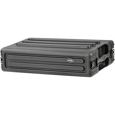SKB Roto-Molded 2U Shallow Rack