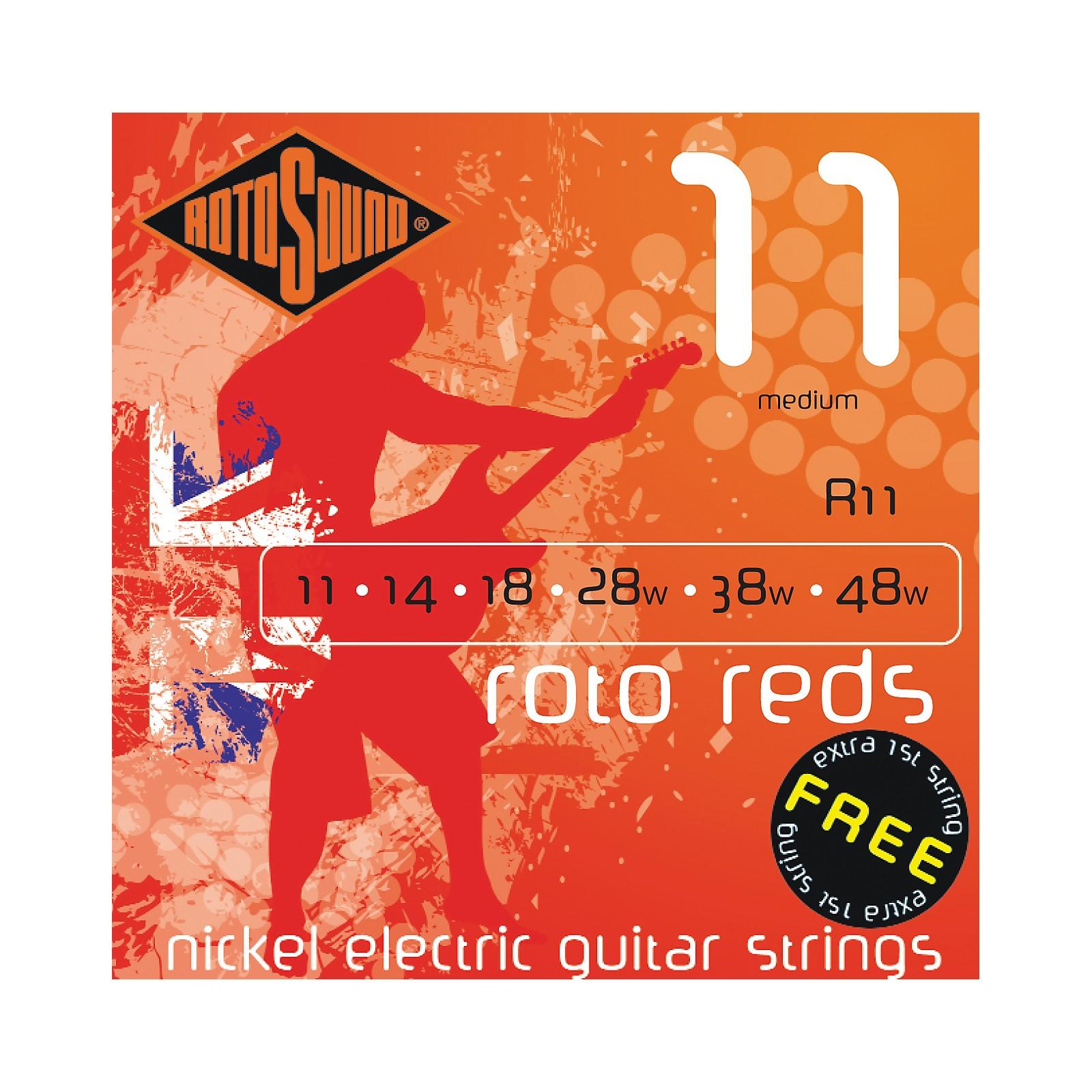 Rotosound Roto Reds Medium Electric Guitar Strings
