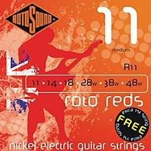 Rotosound Roto Reds Medium Electric Guitar Strings