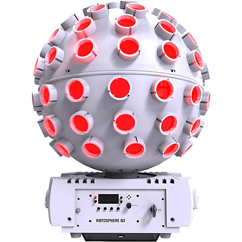 CHAUVET DJ Rotosphere Q3 Mirror Ball Simulator RGBW LED Lighting Effect