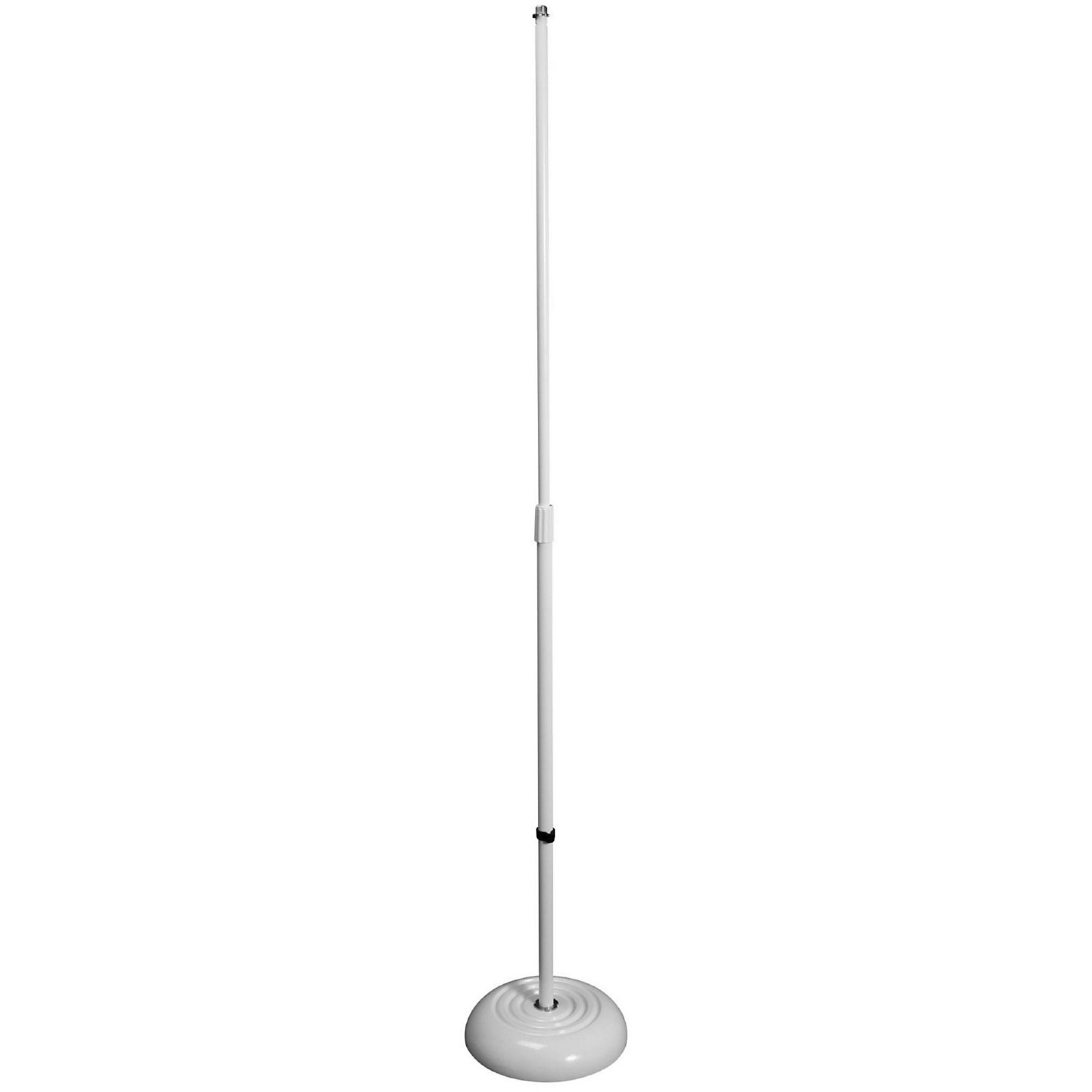On-Stage Round Base Mic Stand, Black
