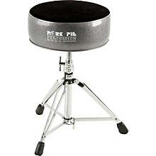 Round Drum Throne Black Sparkle