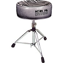 Round Drum Throne Charcoal Glitter with Zebra Top