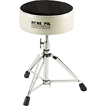 Round Drum Throne Silver Sparkle with Black Swirl Top
