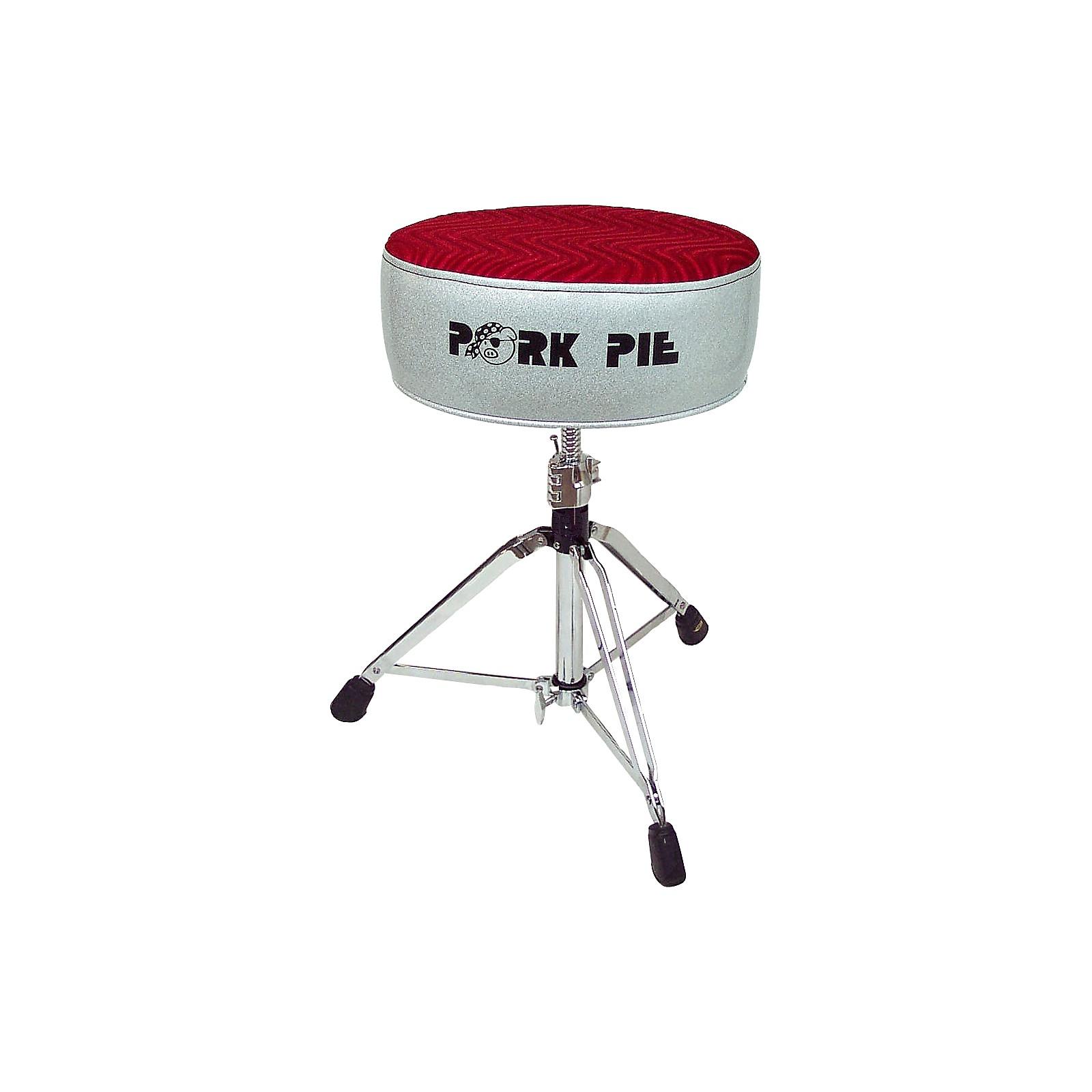 Pork Pie Round Drum Throne