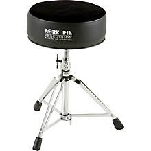 Round Drum Throne Solid Black
