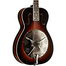 Beard Guitars Round Neck Biscuit Bridge Acoustic-Electric Resonator Guitar