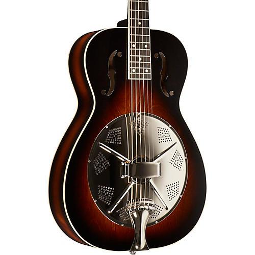 Beard Guitars Round Neck Biscuit Bridge Acoustic-Electric Resonator Guitar