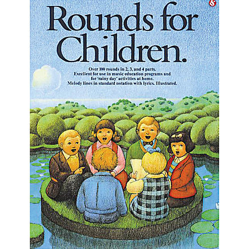 Music Sales Rounds for Children Music Sales America Series Softcover